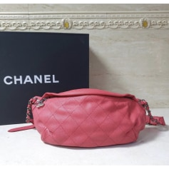 Sac à main en cuir Chanel  pas cher