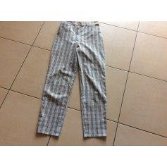 Pantalon droit René Hazan  pas cher