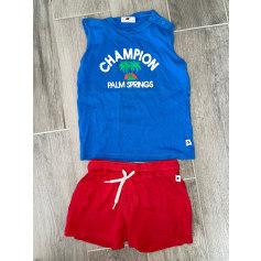 Anzug, Set für Kinder, kurz Champion