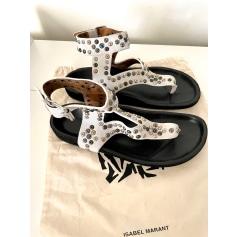 Sandales plates  Isabel Marant  pas cher