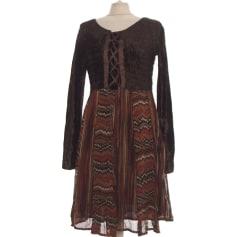 Robe mi-longue Derhy  pas cher