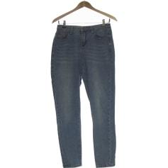Jeans droit Boohoo  pas cher