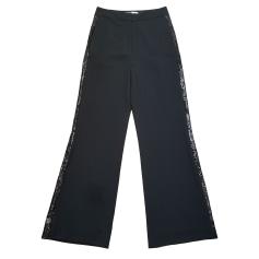 Pantalon très evasé, patte d'éléphant Diane Von Furstenberg  pas cher
