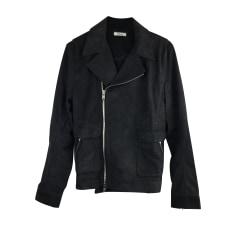 Leather Zipped Jacket Helmut Lang