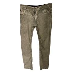 Straight Leg Pants Rick Owens