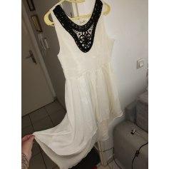 Robe mi-longue boutique indépendant  pas cher