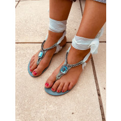 Sandales plates  Schutz  pas cher