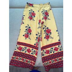 Pantalon large New Look  pas cher