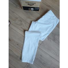 Pantalon droit Benetton  pas cher
