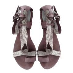 Sandales plates  Michael Kors  pas cher
