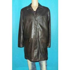 Leather Coat Serge Blanco