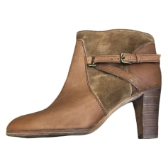 Bottines & low boots à talons Comptoir Des Cotonniers  pas cher