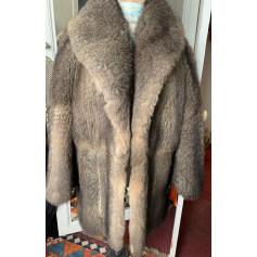 Manteau en fourrure Hermès  pas cher