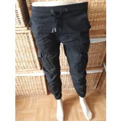 Pantalon droit fashionroch  pas cher