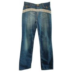 Jeans large, boyfriend Roberto Cavalli  pas cher