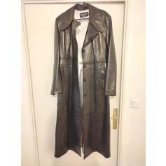 Manteau en cuir Dreamers  pas cher