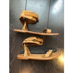 Sandales plates  Mes Demoiselles...  pas cher