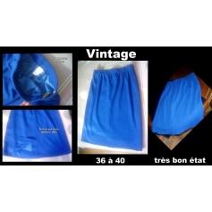 Jupe mi-longue 100% Vintage  pas cher
