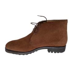 Chaussures à lacets Façonnable  pas cher