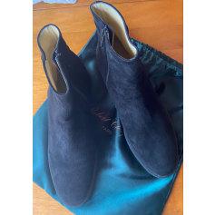 Bottines & low boots à compensés Manfield  pas cher