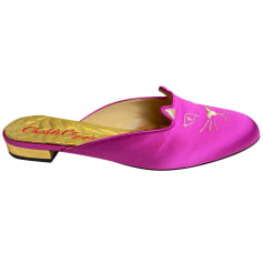 Chaussons & pantoufles Charlotte Olympia  pas cher