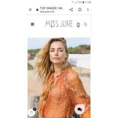 Blouse Miss June  pas cher