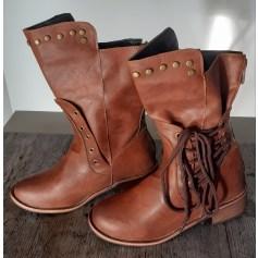 Bottines & low boots plates autre  pas cher