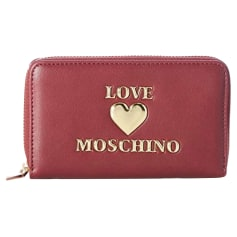 Portefeuille Love Moschino  pas cher