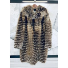 Manteau en fourrure Yves Salomon  pas cher