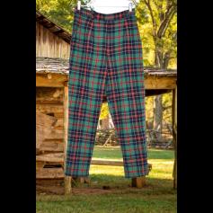 Pantalon droit Collection Privée  pas cher
