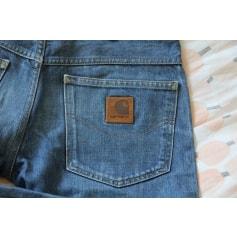 Jeans droit Carhartt  pas cher
