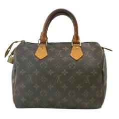 Sac à main en tissu Louis Vuitton Speedy pas cher