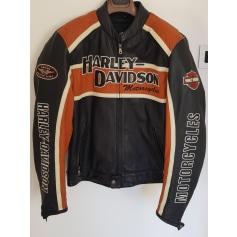 Blouson en cuir Harley Davidson  pas cher