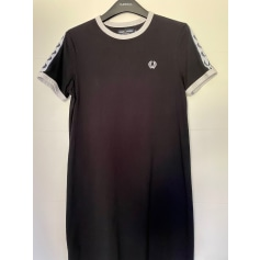 Robe mi-longue Fred Perry  pas cher