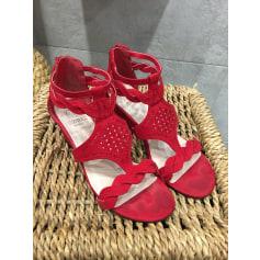 Sandales compensées Woman By Gemo  pas cher