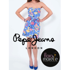 Robe bustier Pepe Jeans  pas cher