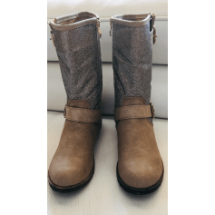 Bottines & low boots plates Milaya  pas cher