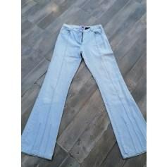 Pantalon droit Lulu Castagnette  pas cher