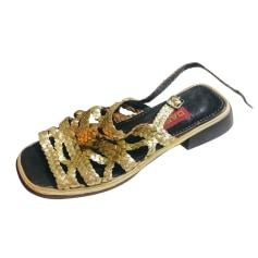 Sandales plates  Carel  pas cher