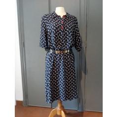 Robe mi-longue Marina Rinaldi  pas cher