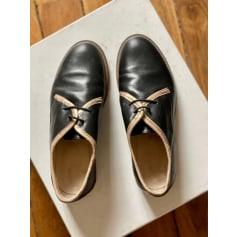 Chaussures à lacets  M. Moustache  pas cher