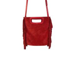 Leather Handbag Maje