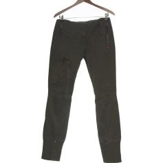 Pantalon slim, cigarette Miss Sixty  pas cher