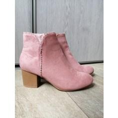 Bottines & low boots à talons La Halle  pas cher