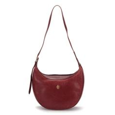 Leather Shoulder Bag Cartier