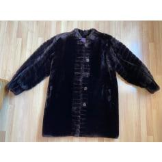 Manteau en fourrure Yves Saint Laurent  pas cher