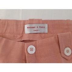 Pantalon droit Madame A Paris  pas cher