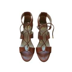 Sandales à talons Bobbies  pas cher