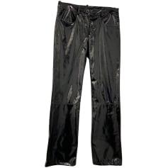 Straight Leg Pants Maje