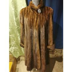 Manteau en fourrure Sartoriale  pas cher